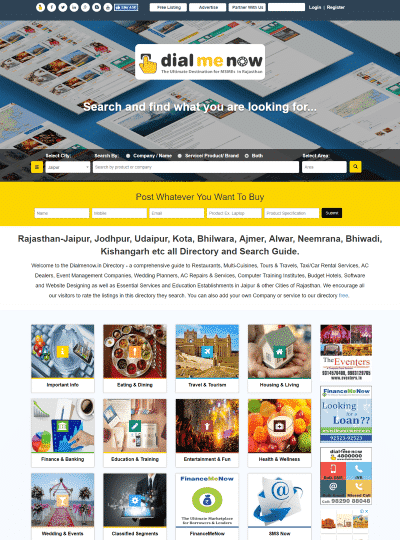 Portfolio of Capaz Softech Pvt. Ltd. - Jaipur Yellow pages